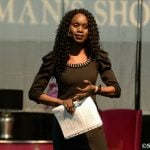 Presenting at the Woman Show 2014